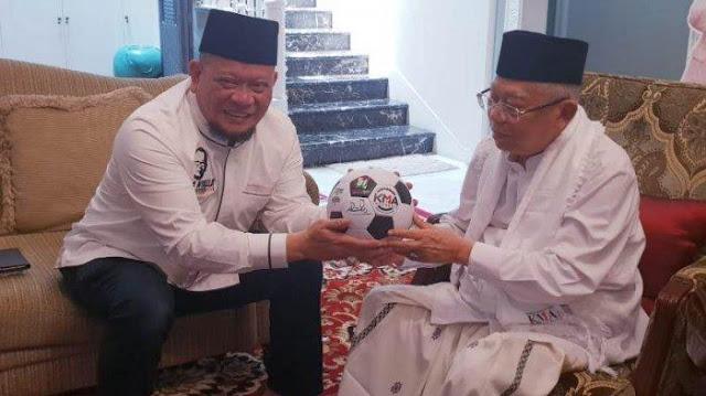 La Nyalla Siap Dipenggal Bila Prabowo Menang di Madura