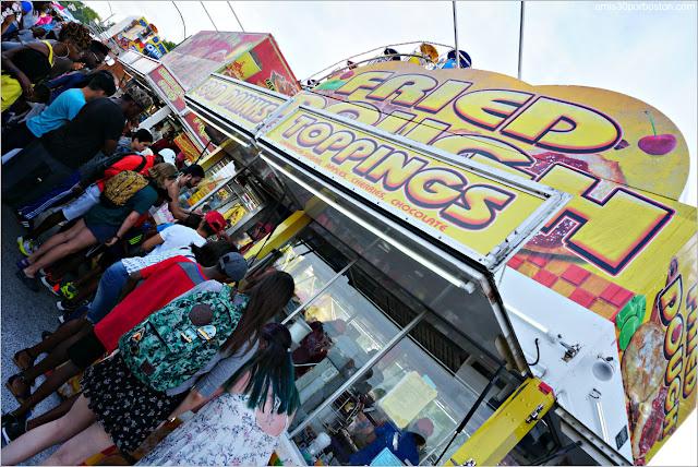 Food Trucks en el Festival de Esculturas de Arena de Revere