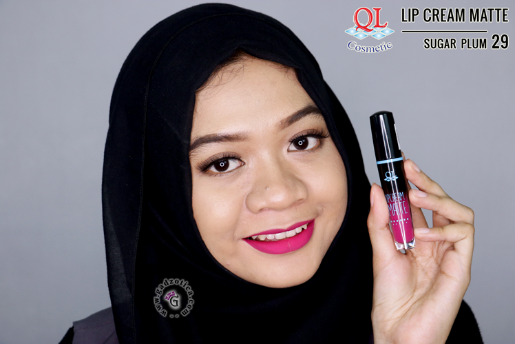 QL Lip Cream Matte 29 Sugar Plum