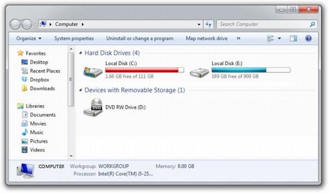 Hard drive interface