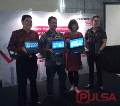 Lenovo Indonesia Luncurkan Jajaran Notebook dan Desktop Terjangkau