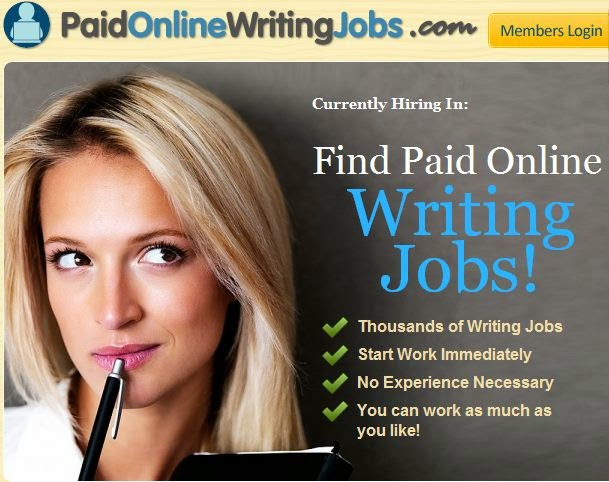 Online writers jobs uk only