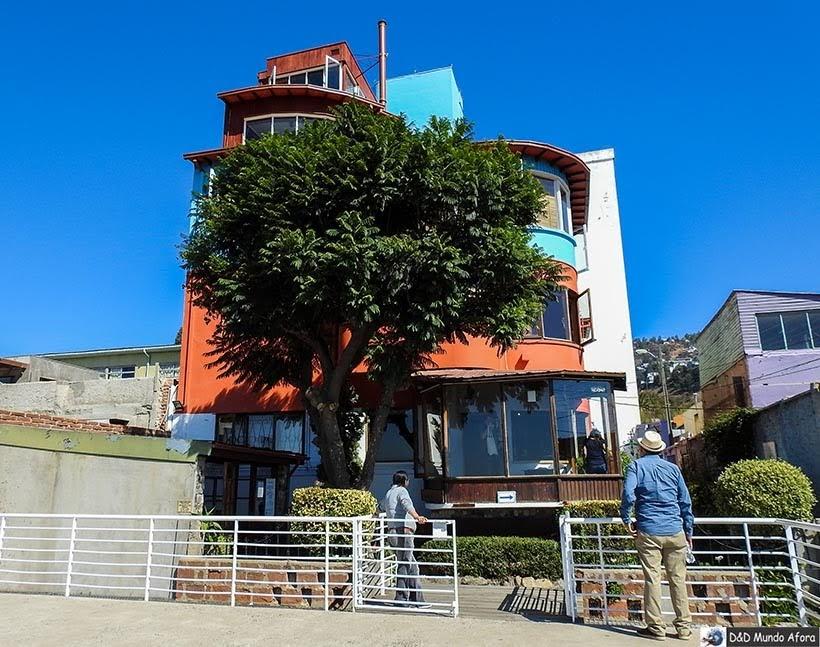 MUseu Casa de Pablo Neruda em Valparaíso - Diário de Bordo Chile: 8 dias em Santiago e arredores