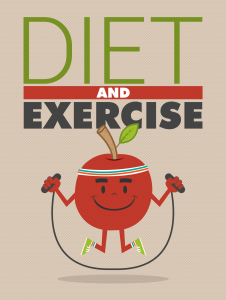 Diet and Exercise Free Fitness Ebook