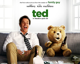 Mark Wahlberg and  Ted Ted Movie HD Wallpaper