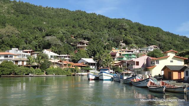 Canal da Barra da Lagoa - Florianópolis