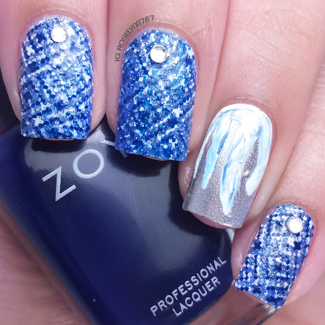 12 Days of Christmas: Ice Blue & White Colors