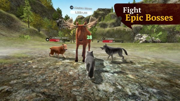 The Wolf MOD APK 1.7.1 Multiplayer RPG Open World