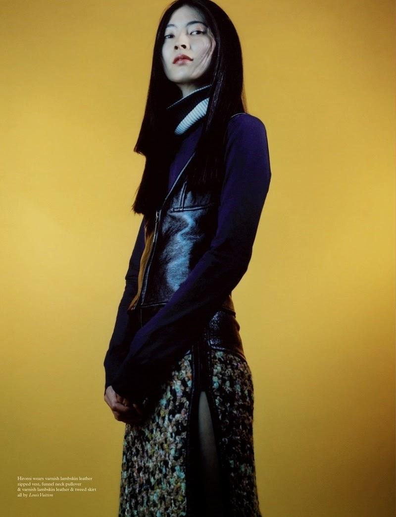Asian Models Blog Editorial Mona Matsouka Mae Lapres