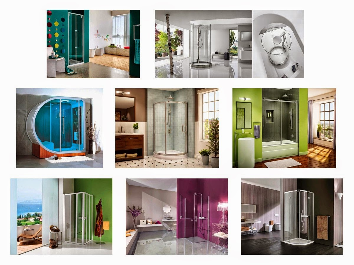 Unique Bathroom Cabinets Frameless Glass Shower Door Cabinet Design Ideas Interior4design