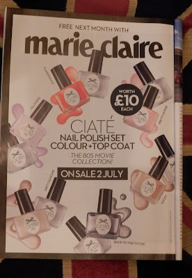 Marie Claire Freebies