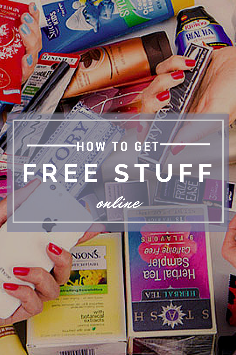 6 Places To Get Free Stuff Online T Is For Twentysomething