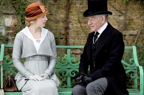 Hattie Morahan - Ian McKellen- Mr Holmes 2015