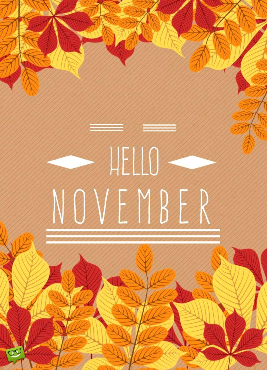 November Wallpaper Wallpapers Ideas