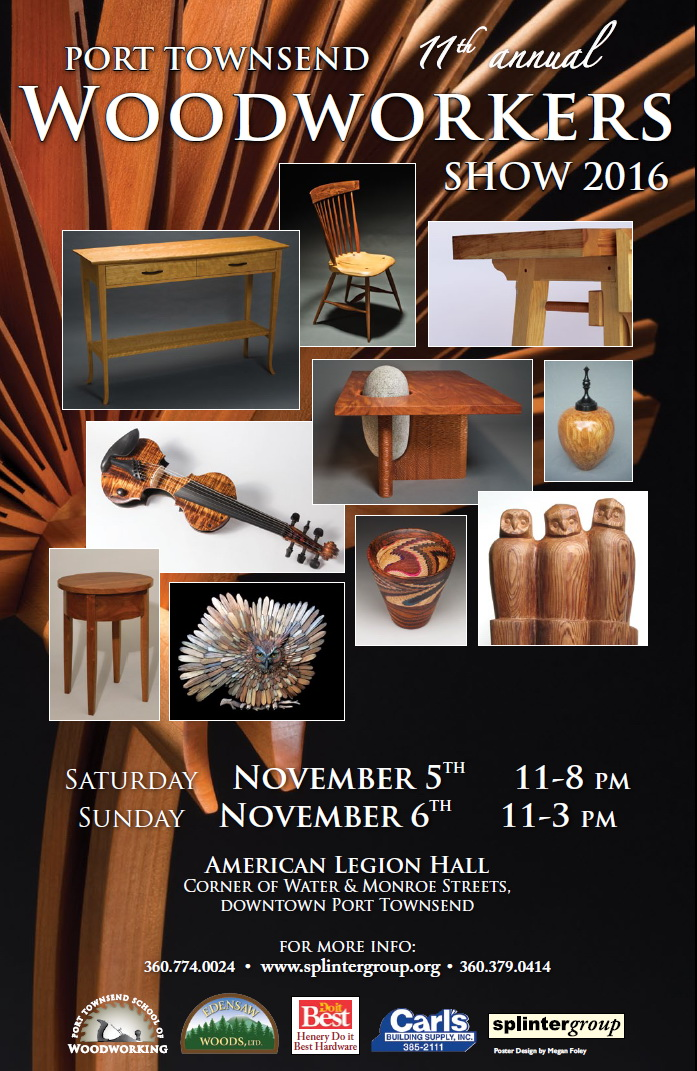 Port Townsend Woodworkers Show 2016