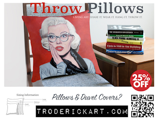 Coupon code SWEETHOME25  25% off Throw Pillows