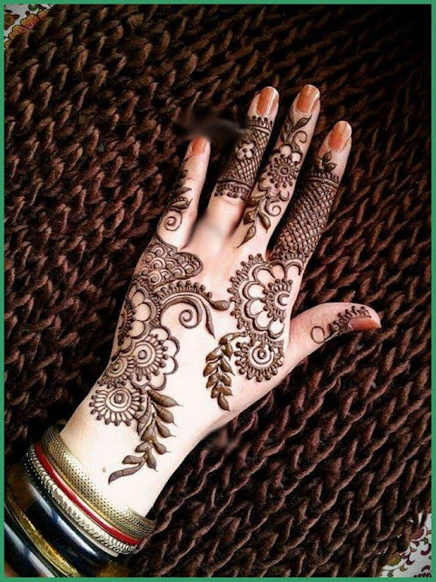 Stylish Latest Pakistani Mehndi Designs 2016