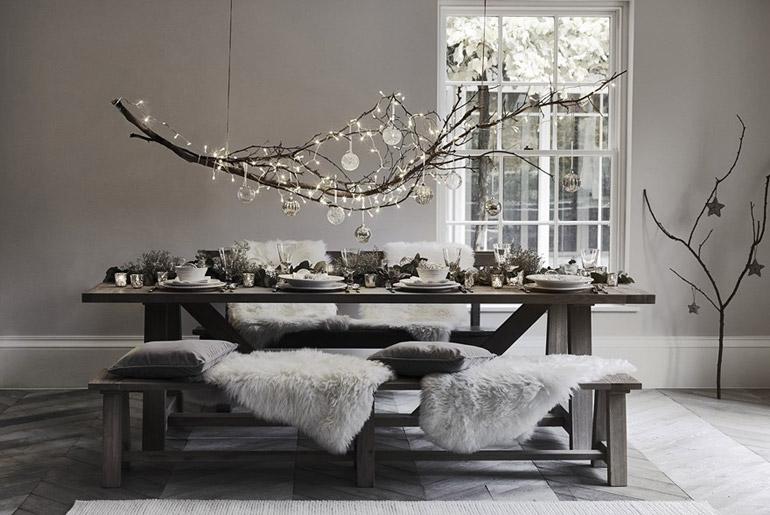inspiración-mesas-navidad-estilo-nordico-grises-texturas-pieles-tejidos