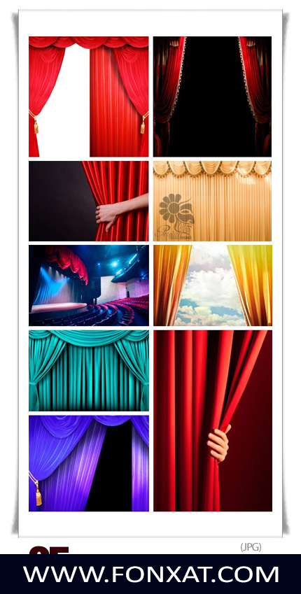 Download image quality theater stage and curtains