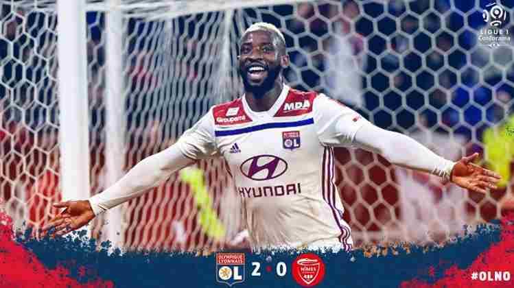 Hasil Lyon vs Nimes Skor Akhir 2-0