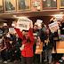 La alcaldesa desaloja el pleno por la protesta de los trabajores de Usoa por el convenio