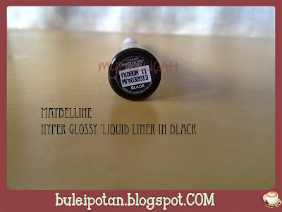 Eyeliner by Maybelline in Black