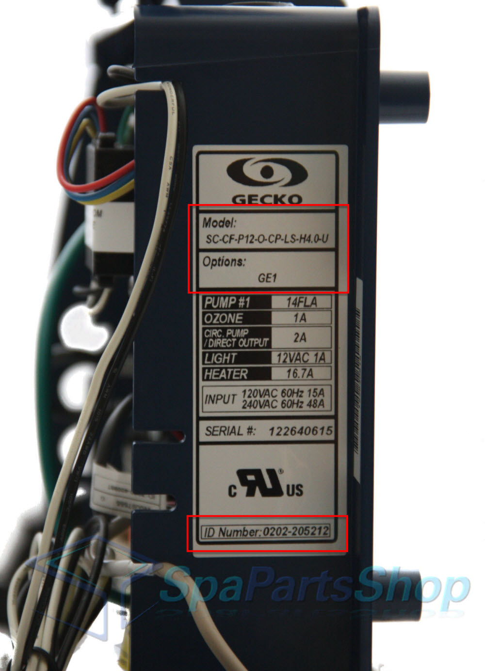 Gecko manufactures spa controls for spa companies so your 'branded' control  box could likely be Gecko!