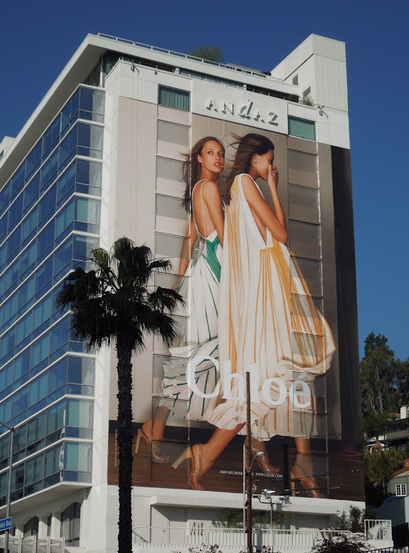 Giant Chloe fashion billboard