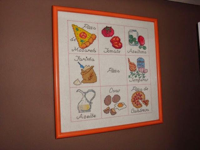 Projeto 52 Objetos | Objeto 7 (Quadro da Pizza)