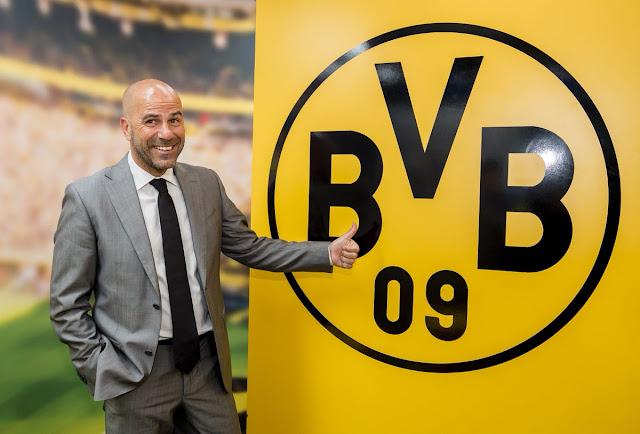 Peter Bosz é o novo treinador do Borussia Dortmund