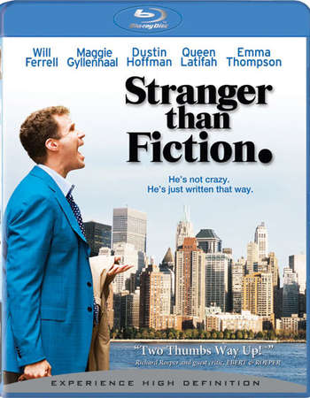 Poster Of Stranger Than Fiction 2006 English 350MB BRRip 480p Free Download Watch Online