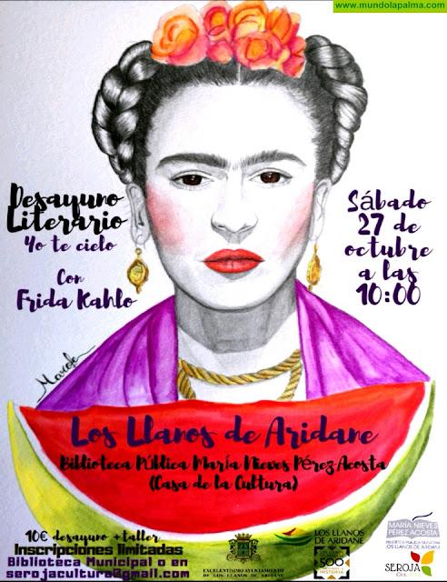Desayuno Literario Seroja Cultura sobre Frida Kahlo