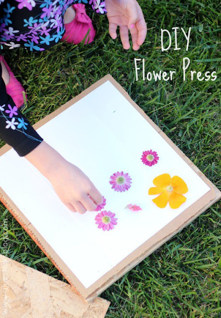 DIY Flower Press  |  Glue Stocks Blog on fg2b