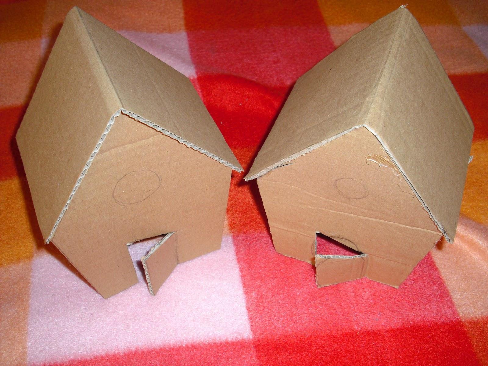 Casetta Di Natale Da Colorare : Piccole polpette crescono la casetta di pan di zenzero