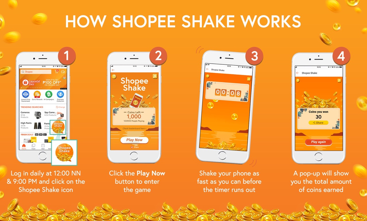 Do The Shopee Shake And Get To Win An Iphone X Fujifilm T20 Or Bebelove 2 1800 Gram What Are You Waiting For Set Your Alarms Mark Calendars Ready Shop This Orange Day
