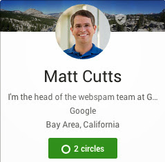 Matt Cutt's Profile