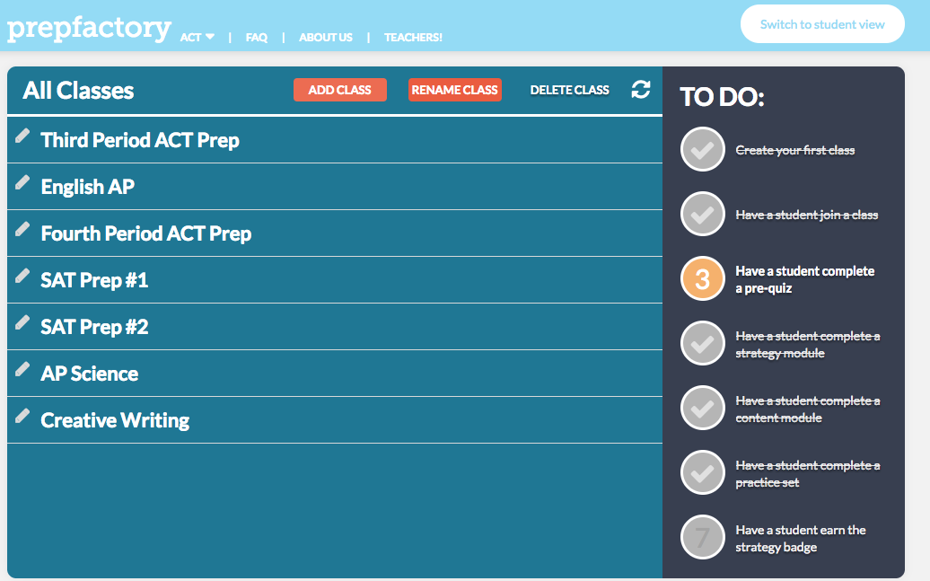 Free Technology for Teachers: PrepFactory Offers a New Option for ...
