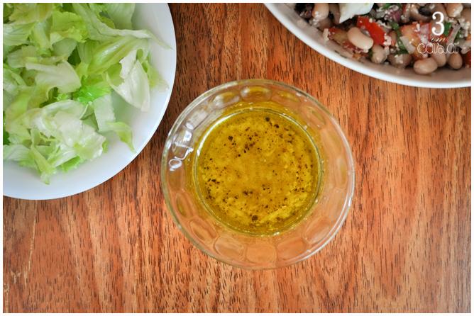 como fazer molho simples salada