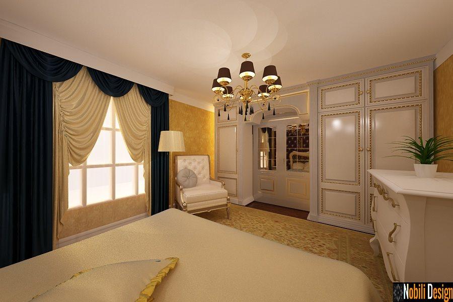 Design interior case vile mobilier clasic de lux