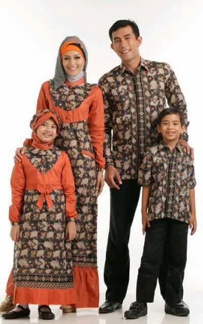 Desain Busana Muslim Batik Untuk Anak