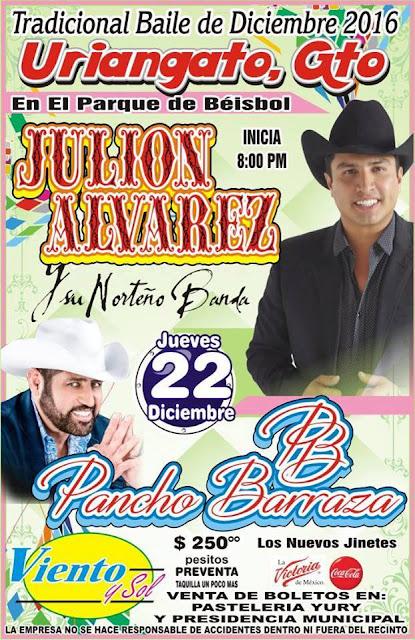 baile 22 de diciembre julion alvarez