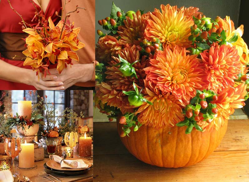 Fall Wedding Flower Ideas