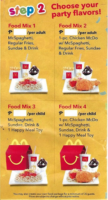 McDo Party Food Mix