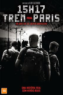 15h17: Trem Para Paris - BDRip Dual Áudio