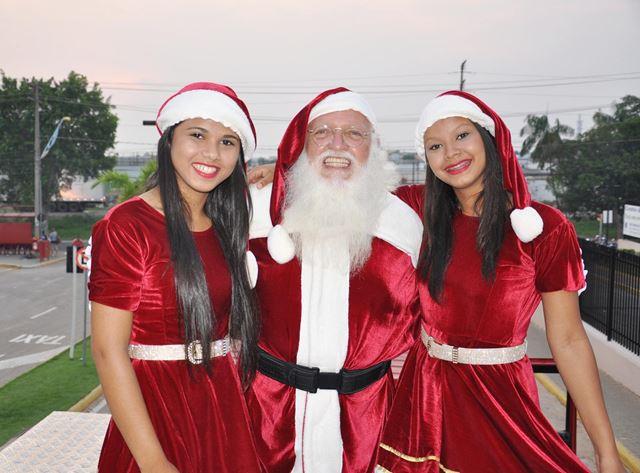 Papai Noel chega sábado a shopping de Imperatriz. Foto: Canal Comunicação