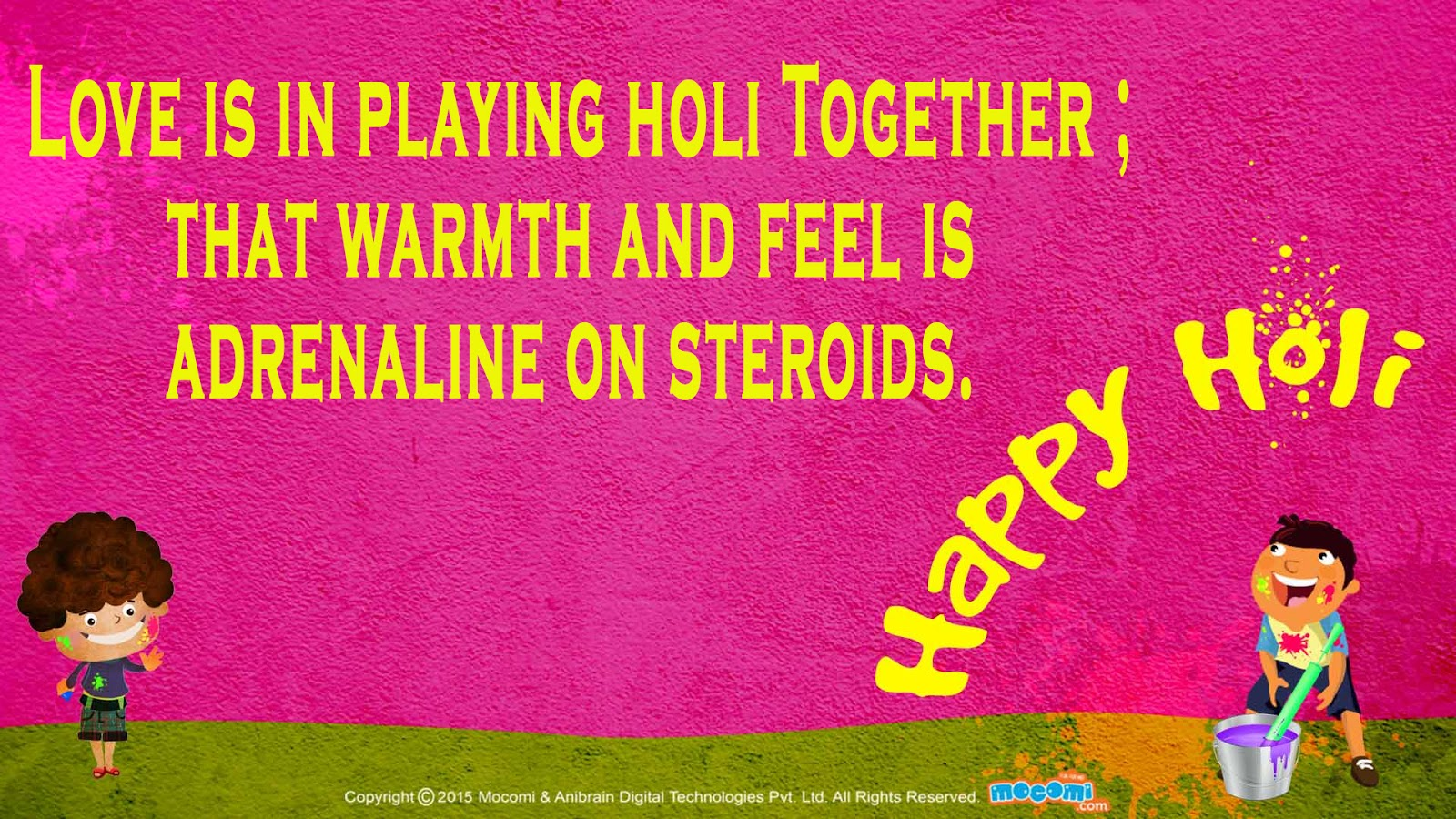 Best 20 happy holi greetings with images juicy quote happy holi best wishes quotes on holi kristyandbryce Image collections