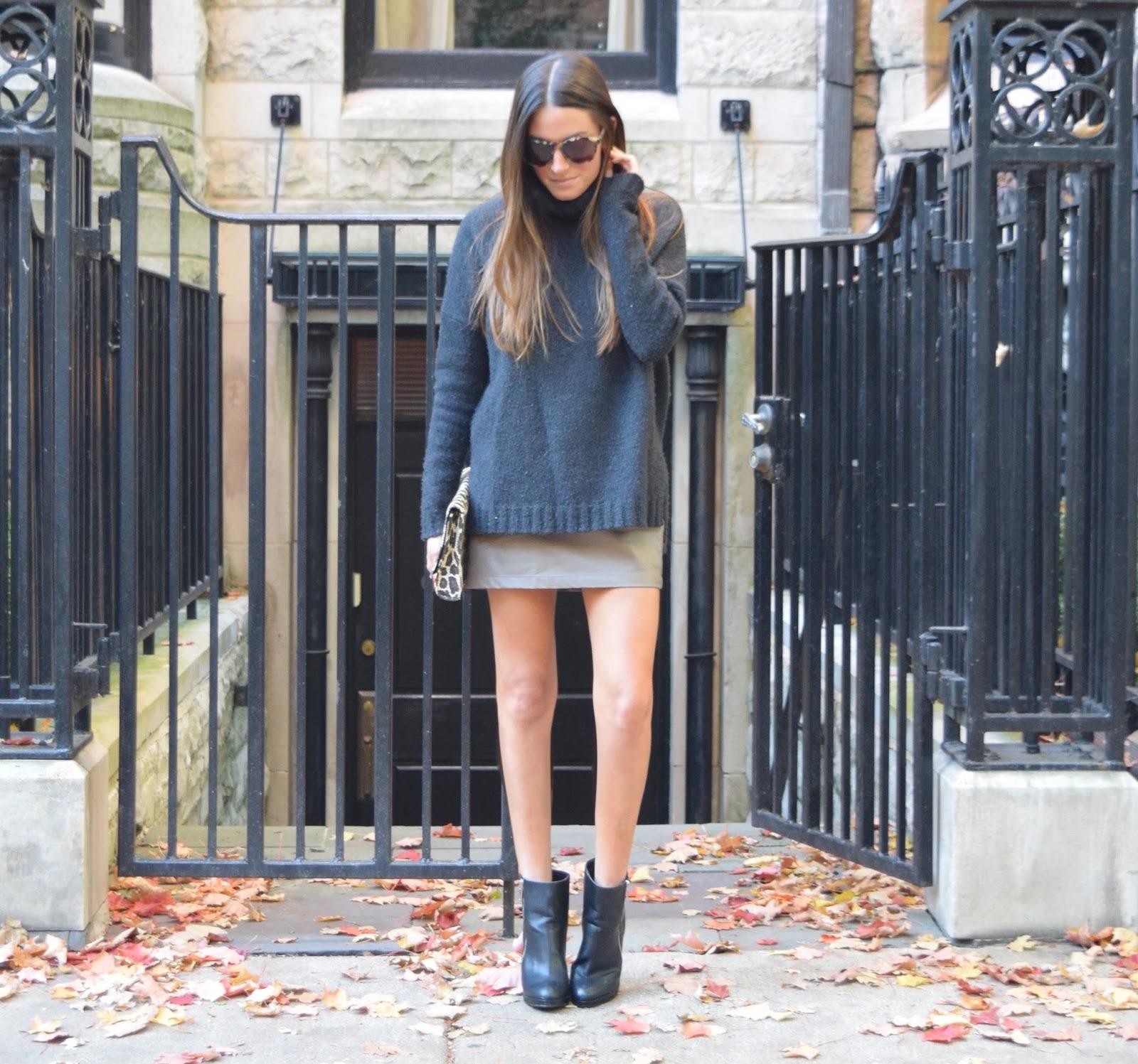 c26080d7df By Shanna  oversized sweaters x mini skirt