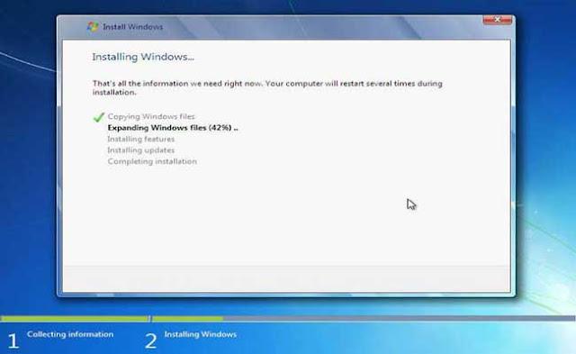 13 - Tutorial Menginstal Windows 7