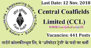Northern Coalfields India Recruitment 2018