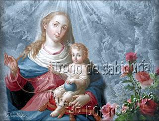 Resultado de imagen para María « Trono de la Sabiduría »